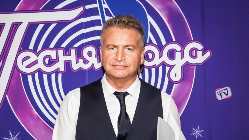 Участник фестиваля Песня года 2017 певец Леонид Агутин