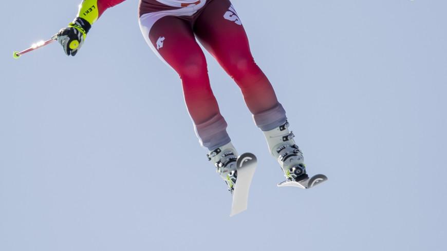 Американская горнолыжница вылетела с трассы, разогнавшись до 100 км в час