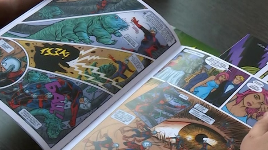 Приключения супергероя: в Казахстане издали комиксы об Алмабое