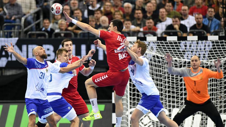 Матч по гандболу между Россией и Сербией завершился ничьей