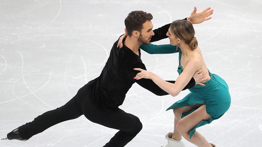Французская пара фигуристов лидирует в ритм-танце на ЧЕ