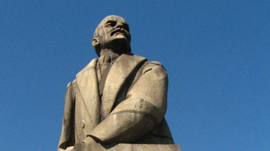 """Фото: Елизавета Шагалова, """"«МИР 24»"""":http://mir24.tv/, петрозаводск, ленин, памятник ленину"""