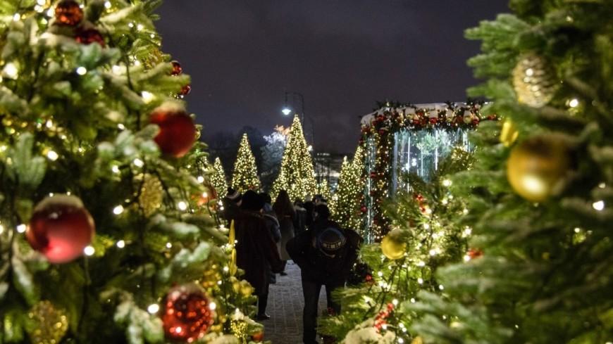 Москва нарядилась к встрече Нового года 2018