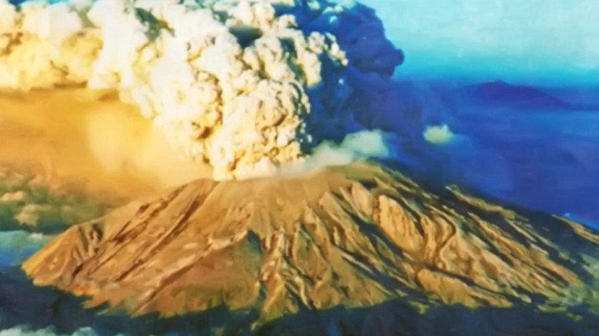"Фото: ""МЧС"":http://www.mchs.gov.ru/, вулкан, шивелуч"