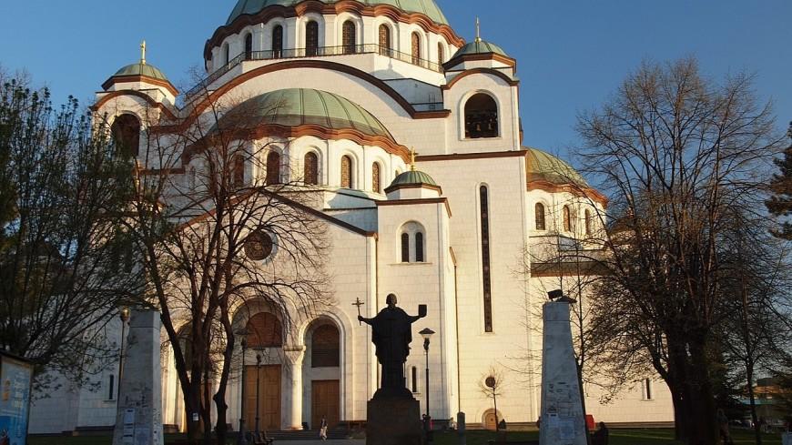 Путин и Вучич посетили главный храм Белграда