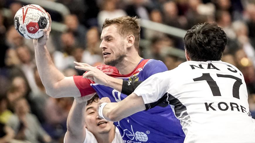 Сборная России обыграла объединенную команду Кореи на ЧМ по гандболу