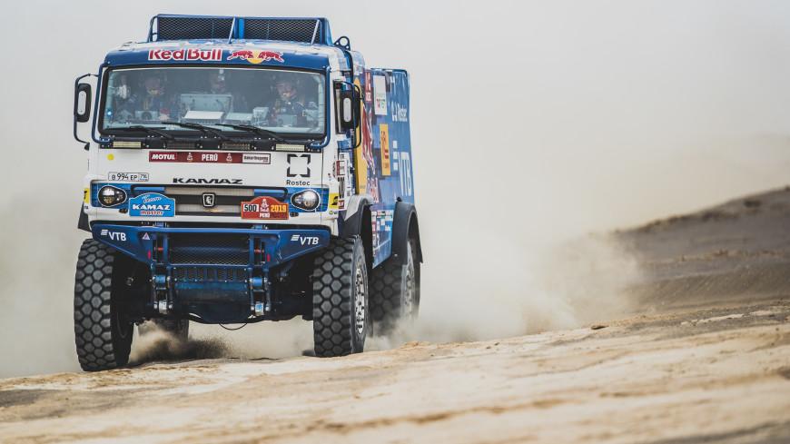 Снова «КАМАЗ»: Экипаж Николаева выиграл ралли «Дакар-2019»