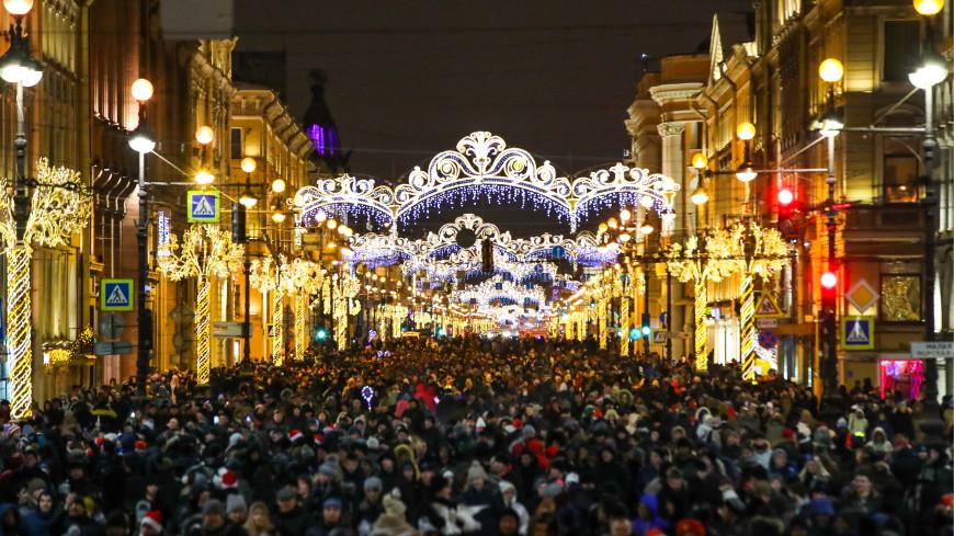 Петербург признали лучшим городом для путешествия на Рождество
