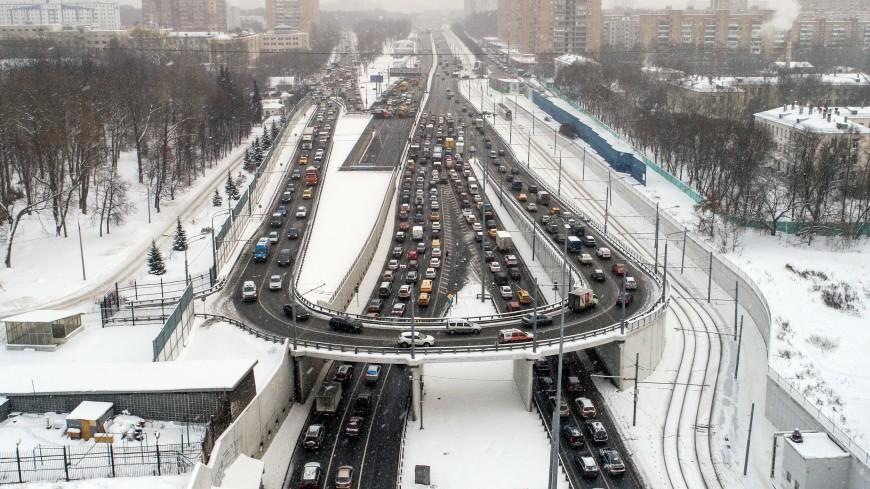 Тушинский тоннель в Москве открыли для движения