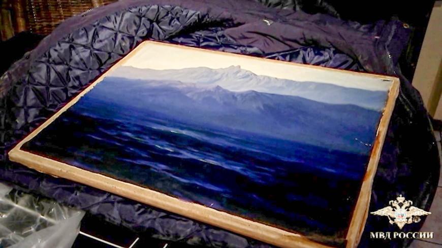 Похищенную картину Куинджи передадут Русскому музею