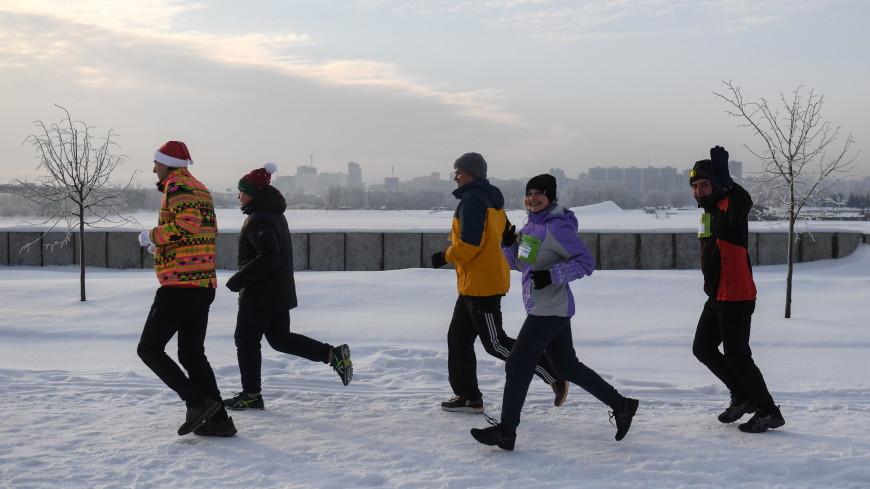 Красноярцы начали новый год с «Забега обещаний»