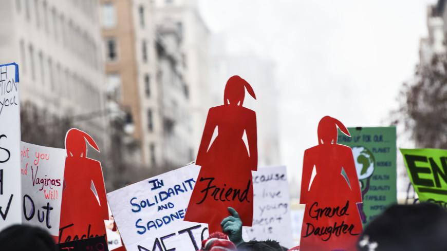 В США прошли «женские марши» протеста