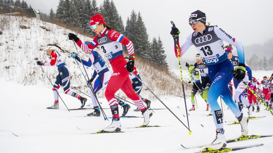 Лыжница Непряева заняла второе место в общем зачете «Тур де Ски»