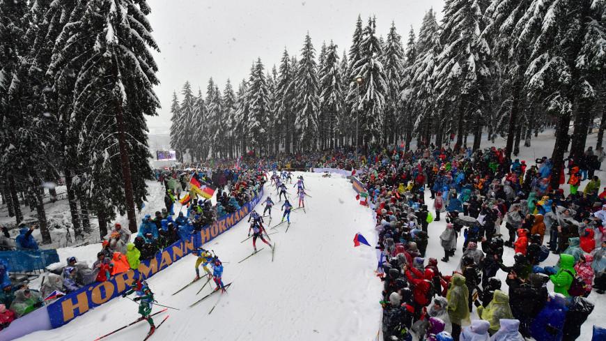 В Германии из-за снегопадов перенесли гонку этапа Кубка мира по биатлону