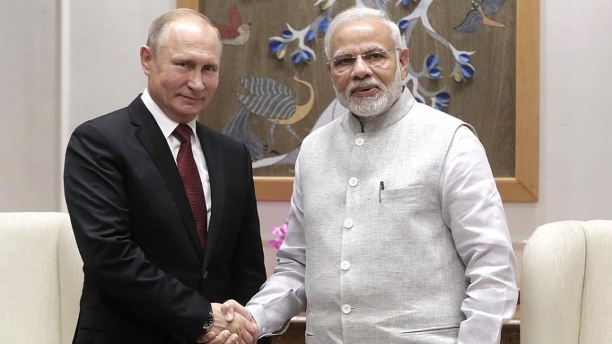 Путин позвал Моди на ВЭФ в качестве главного гостя