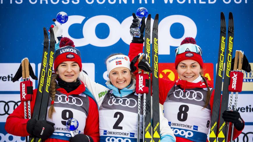 Россиянки Непряева и Седова взяли серебро и бронзу на «Тур де Ски»