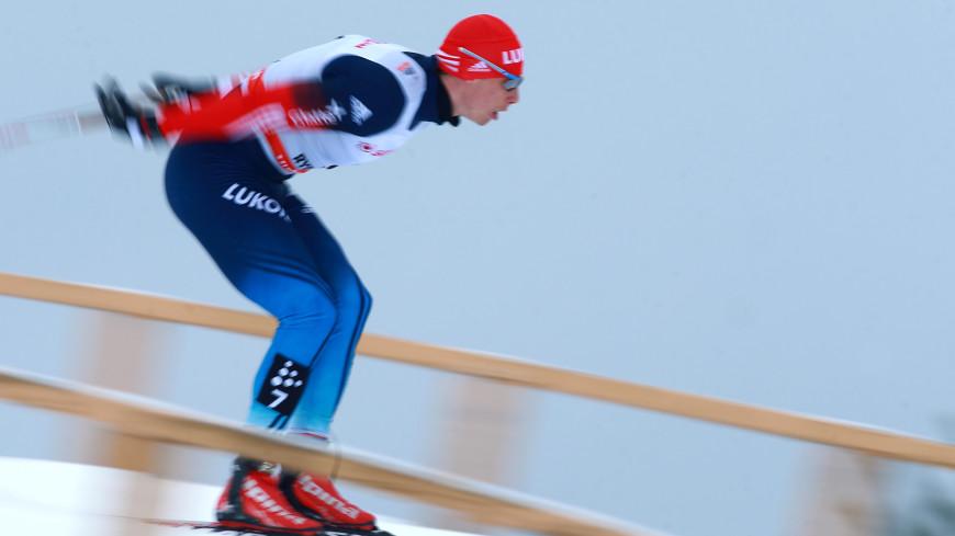 Российские лыжники завоевали золото и серебро на этапе КМ в Швеции