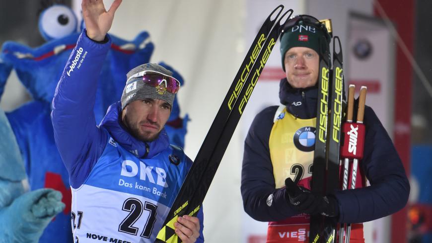 Норвежец Йоханнес Бе выиграл гонку преследования, Логинов – пятый
