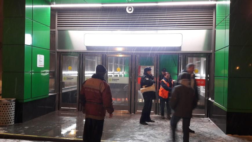 В Мосметрострое назвали предварительную причину затопления участка метро