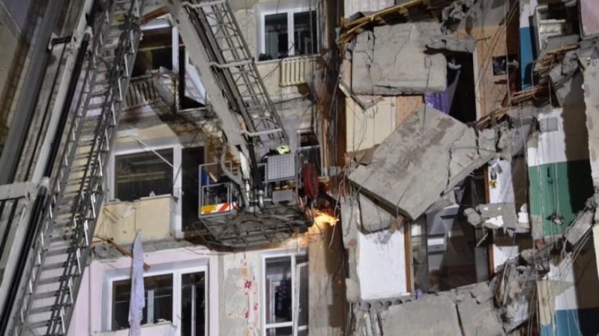 Пострадавший при взрыве дома в Магнитогорске разделят на два