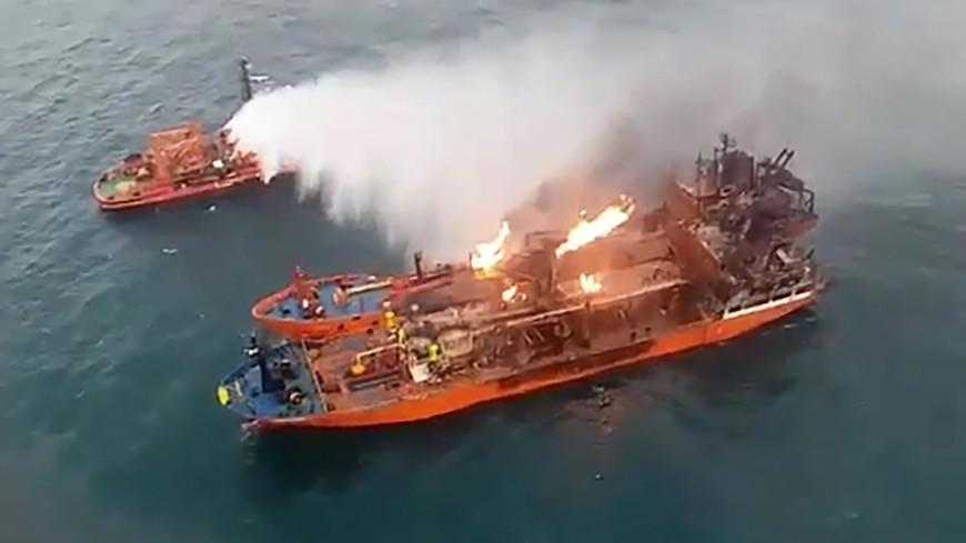 Названа причина пожара на танкерах в Черном море