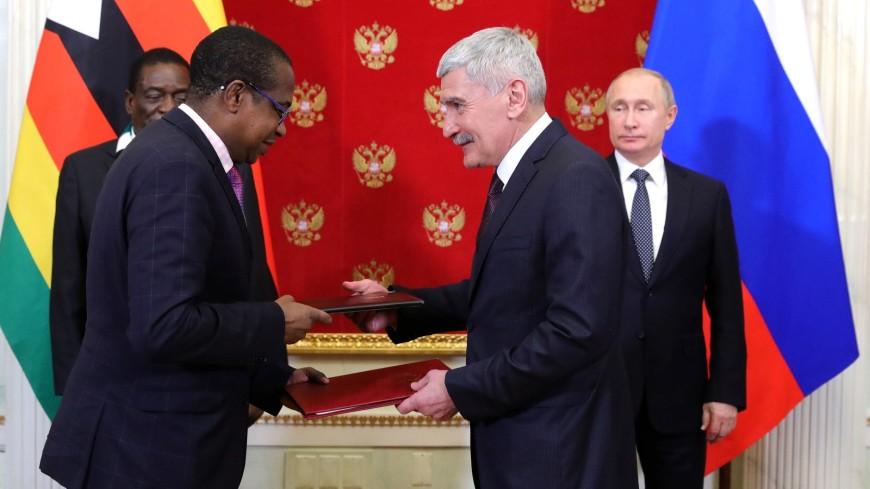 Россия и Зимбабве договорились об освоении месторождения платины