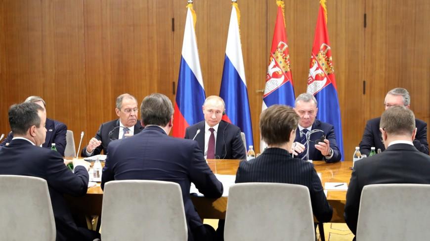Путин о ЗСТ между Сербией и ЕАЭС: Рассчитываю, что подпишем в этом году