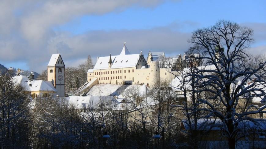 Аббатство Святого Магнуса в город Фюссен