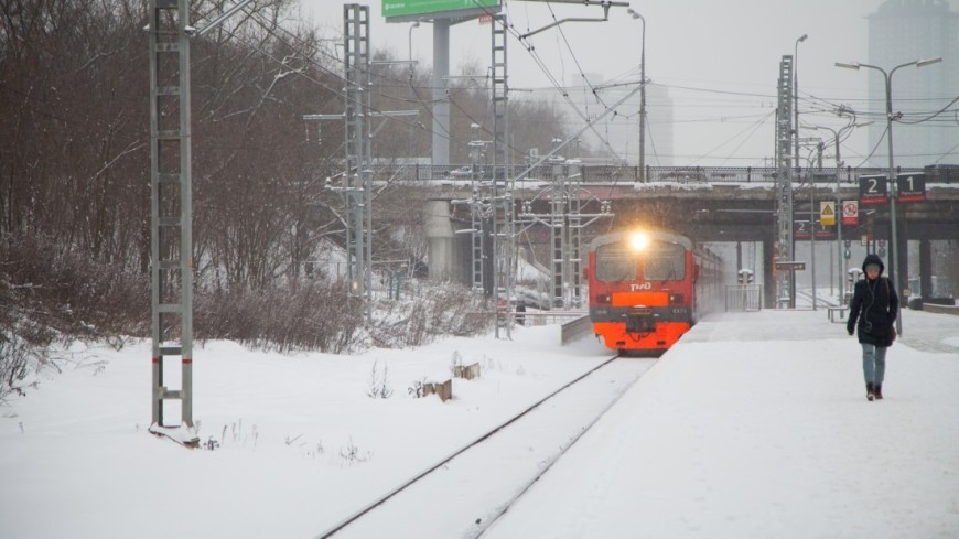 В Люберцах электричка сбила насмерть двух человек, еще один пострадал