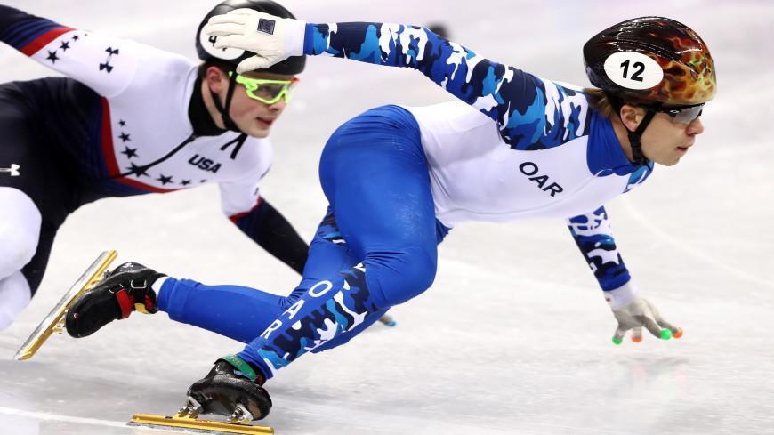 Россияне Просвирнова и Елистратов взяли оба золота ЧЕ по шорт-треку на 1000 м