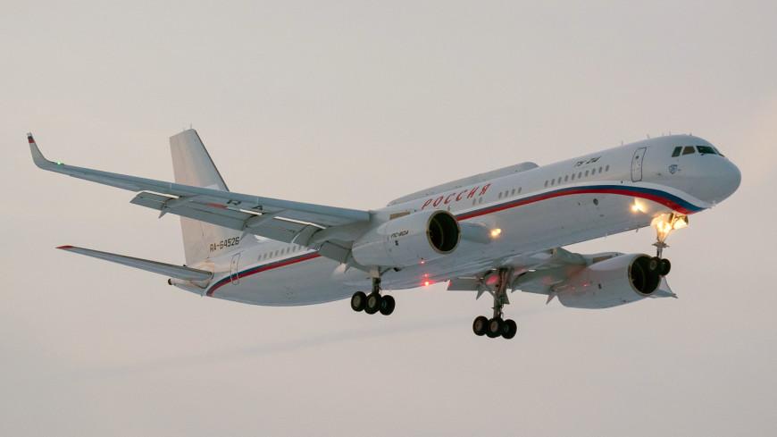 Ту-214 аварийно сел в Ульяновске из-за проблем со стойкой шасси