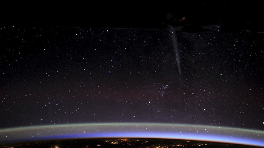 """Фото: """"РОСКОСМОС"""":http://www.federalspace.ru/, земля, космос, звезды, планета земля"""