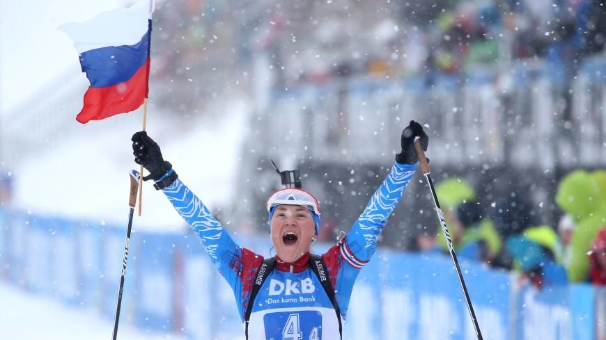 Двойное золото: российские биатлонисты выиграли обе эстафетные гонки