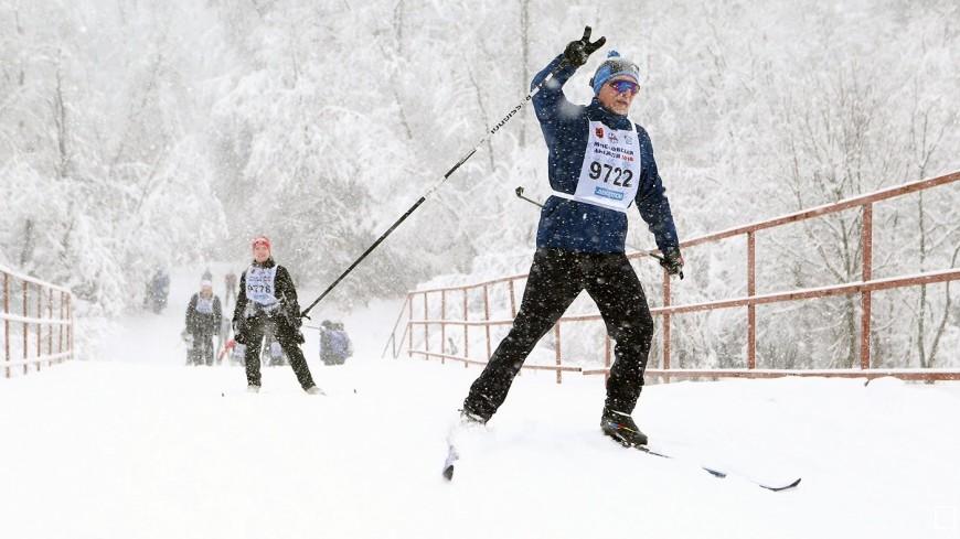 В Москве лыжные трассы после снегопадов привели в порядок