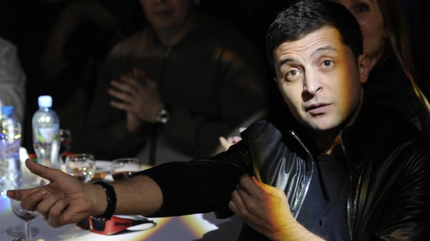 Украинский комик Зеленский рассказал о сотнях тысяч сторонников