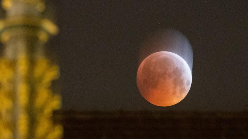 Во время «кровавого затмения» в Луну врезался метеорит