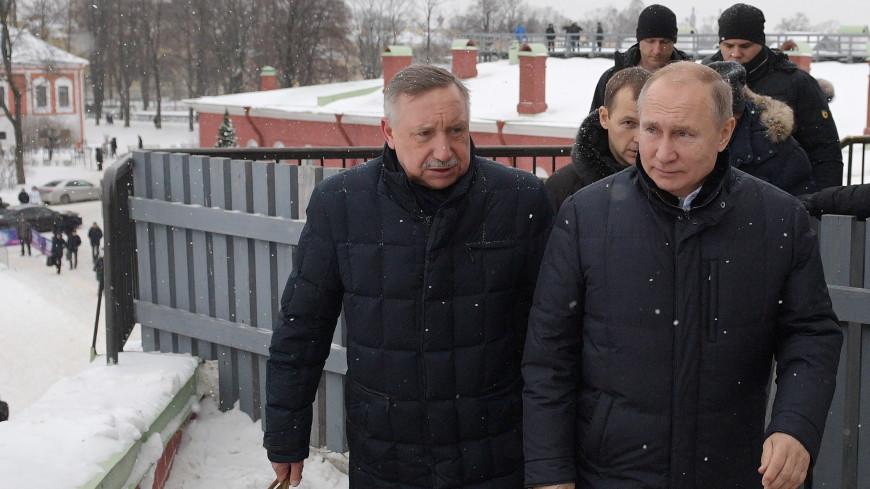 Путин обсудил с врио главы Санкт-Петербурга пути развития города