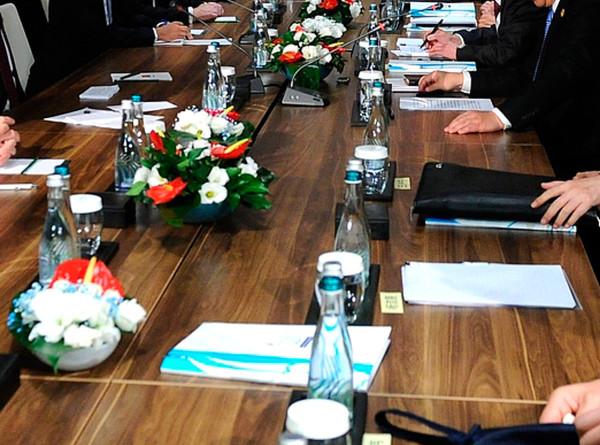 Матвиенко и Мясникович на Форуме регионов обсудили двусторонние отношения