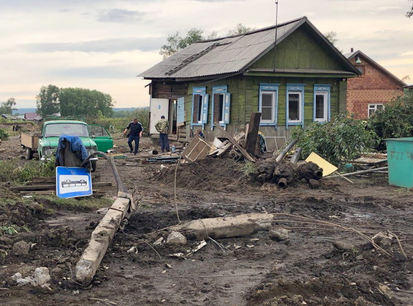 Число пострадавших при паводке в Иркутской области возросло