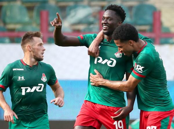 «Локомотив» обыграл дебютанта РПЛ «Тамбов» на своем поле