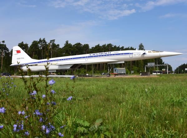 В Жуковском легендарный Ту-144 вознесли на пьедестал