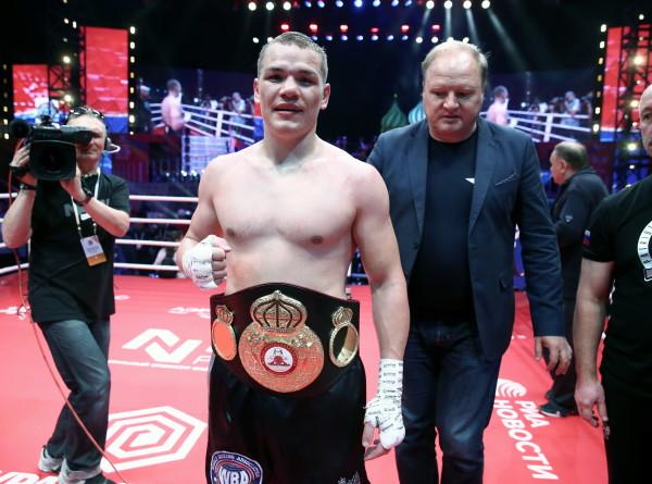 Федор Чудинов защитил титул континентального чемпиона WBA