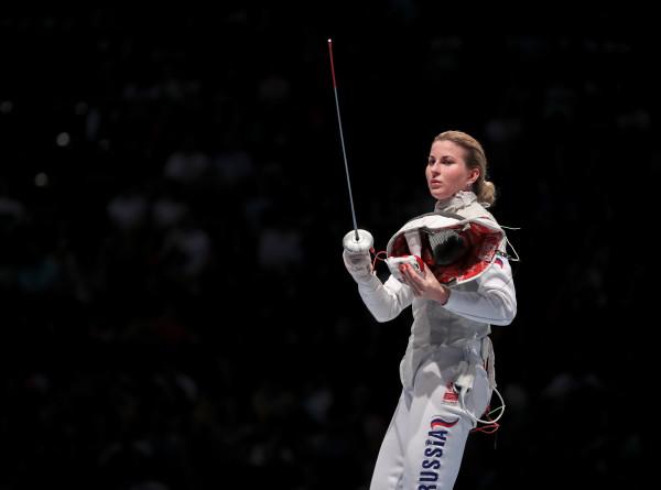 Дериглазова стала пятикратной чемпионкой мира по фехтованию