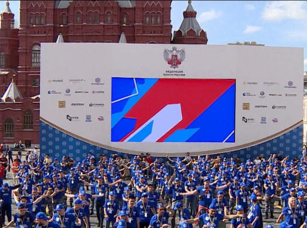 День бокса на Красной площади отметили мировым рекордом