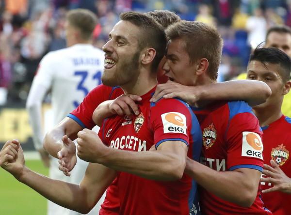 ЦСКА одержал первую победу в сезоне РПЛ 2019/20