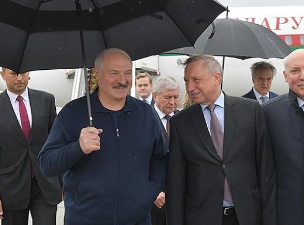 Лукашенко прибыл в Россию с рабочим визитом