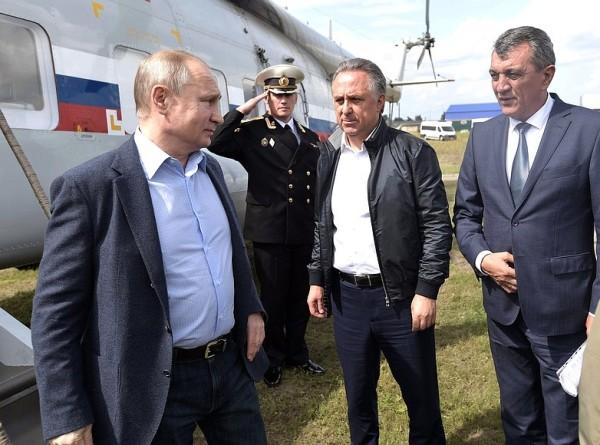 Путин осмотрел пострадавшие от паводка районы Иркутской области