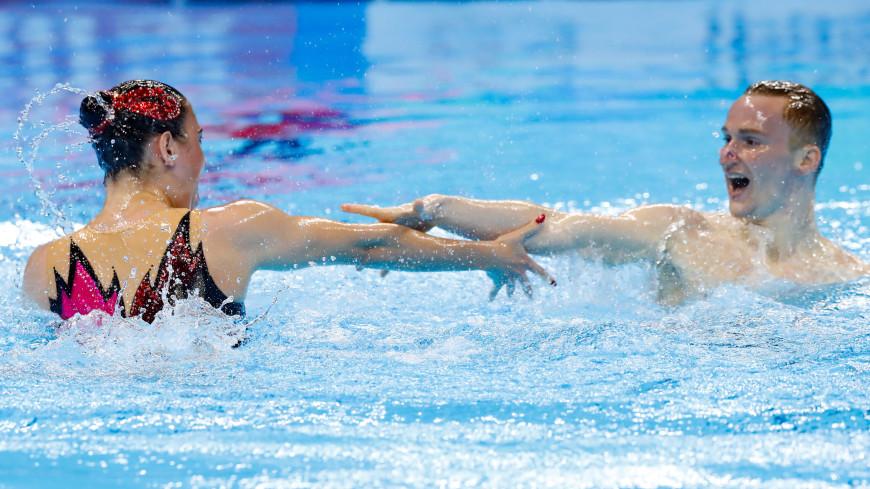 Синхронисты Мальцев и Гурбанбердиева взяли золото на ЧМ по водным видам спорта