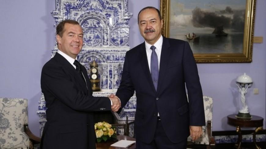 Медведев: Россия и Узбекистан нацелены на более плотное взаимодействие