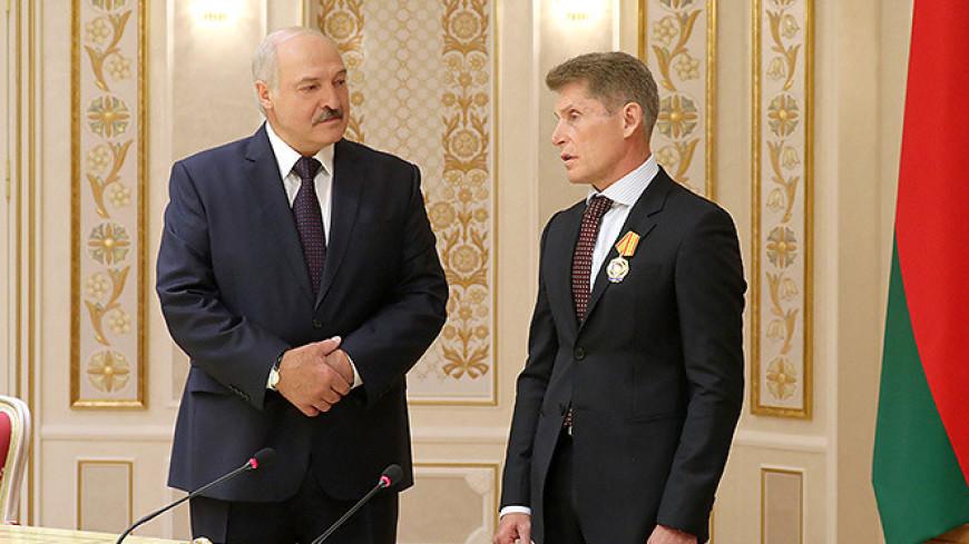 Лукашенко: Расстояние – не помеха сотрудничеству с Приморьем